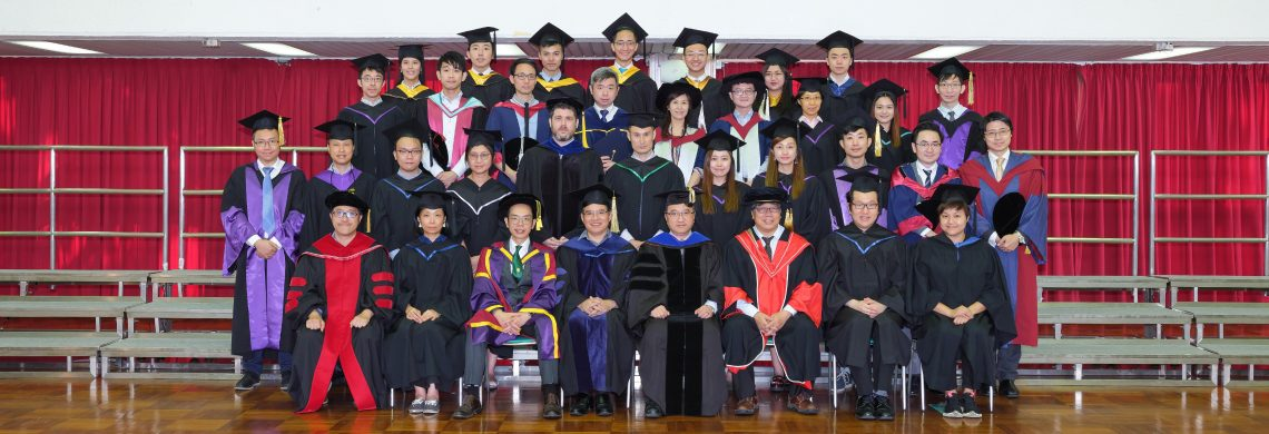 Graduating students and teaching staff of Residential Colleges