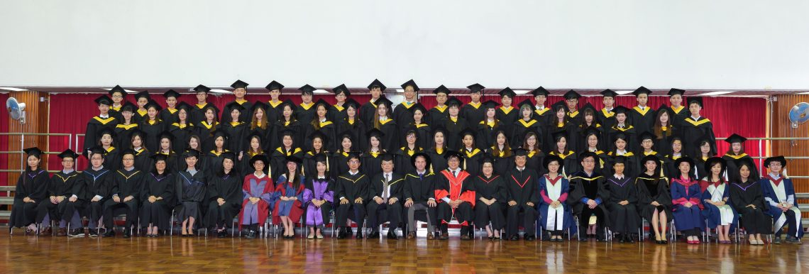 Graduating students of Bachelor of Business Administration (Honours) - Accounting Concentration and their teachers