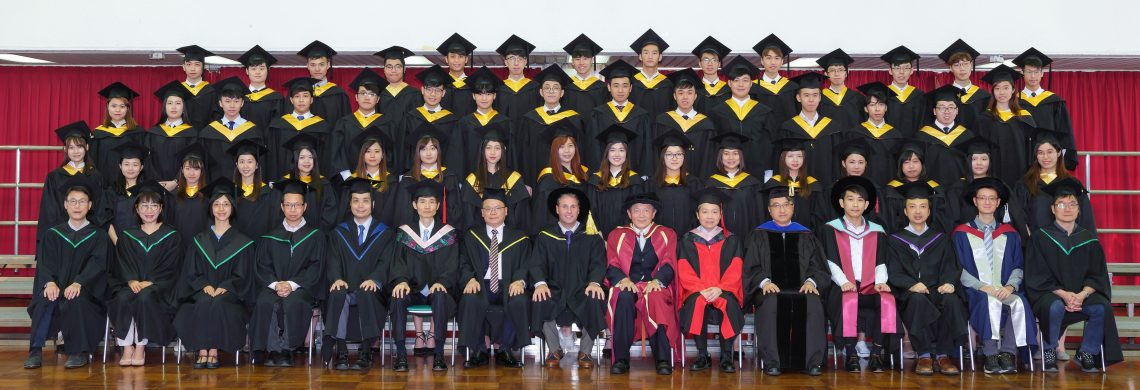 Graduating students of Bachelor of Business Administration (Honours) - Banking and Finance Concentration and their teachers