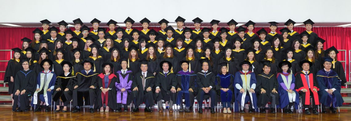 Graduating students of Bachelor of Business Administration (Honours) - Marketing Concentration and their teachers