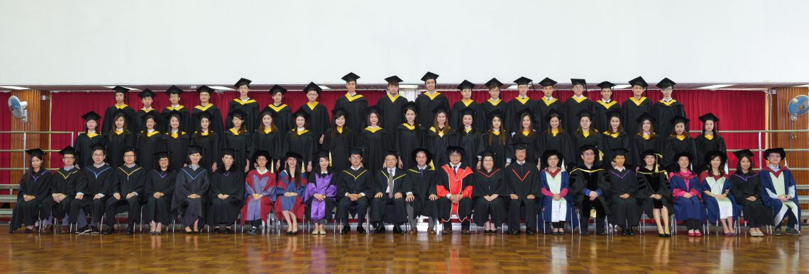 Graduating students of Bachelor of Business Administration (Honours) in Corporate Governance and their teachers