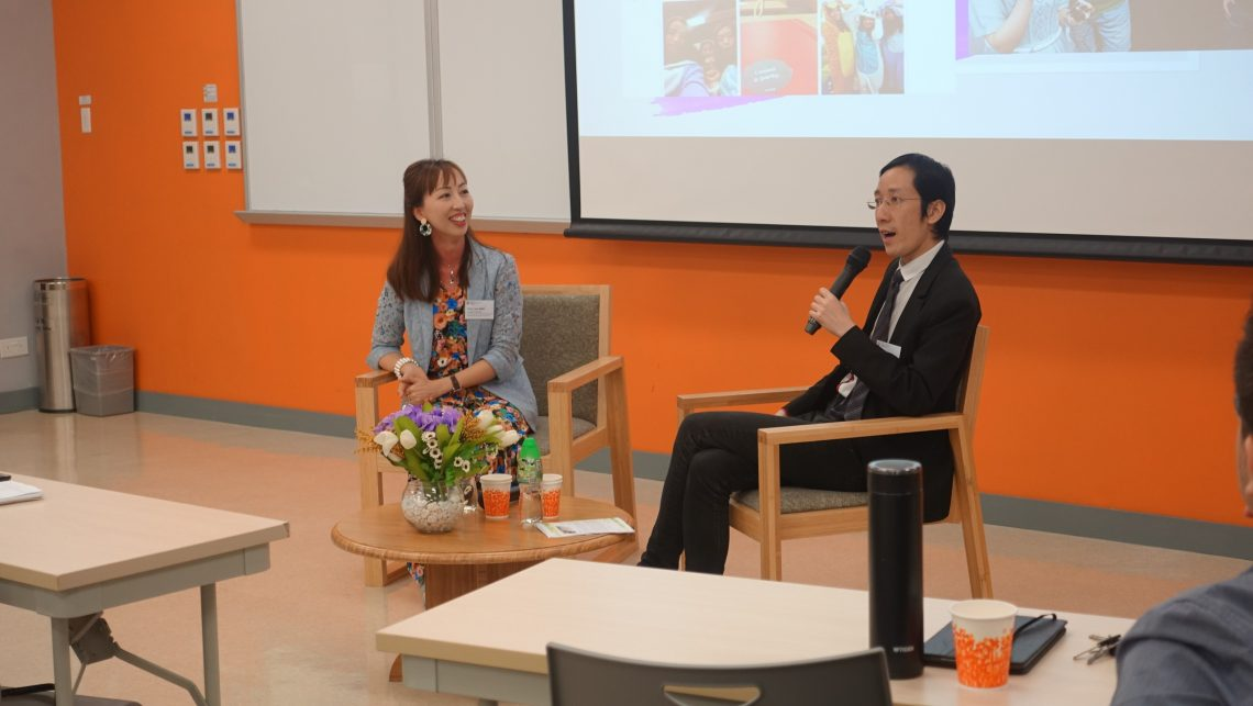 Professor Lisa Wan, Assistant Professor, School of Hotel and Tourism Management, the Chinese University of Hong Kong (left) and Dr Felix Tang, Associate Professor, Department of Marketing, HSUHK (right).