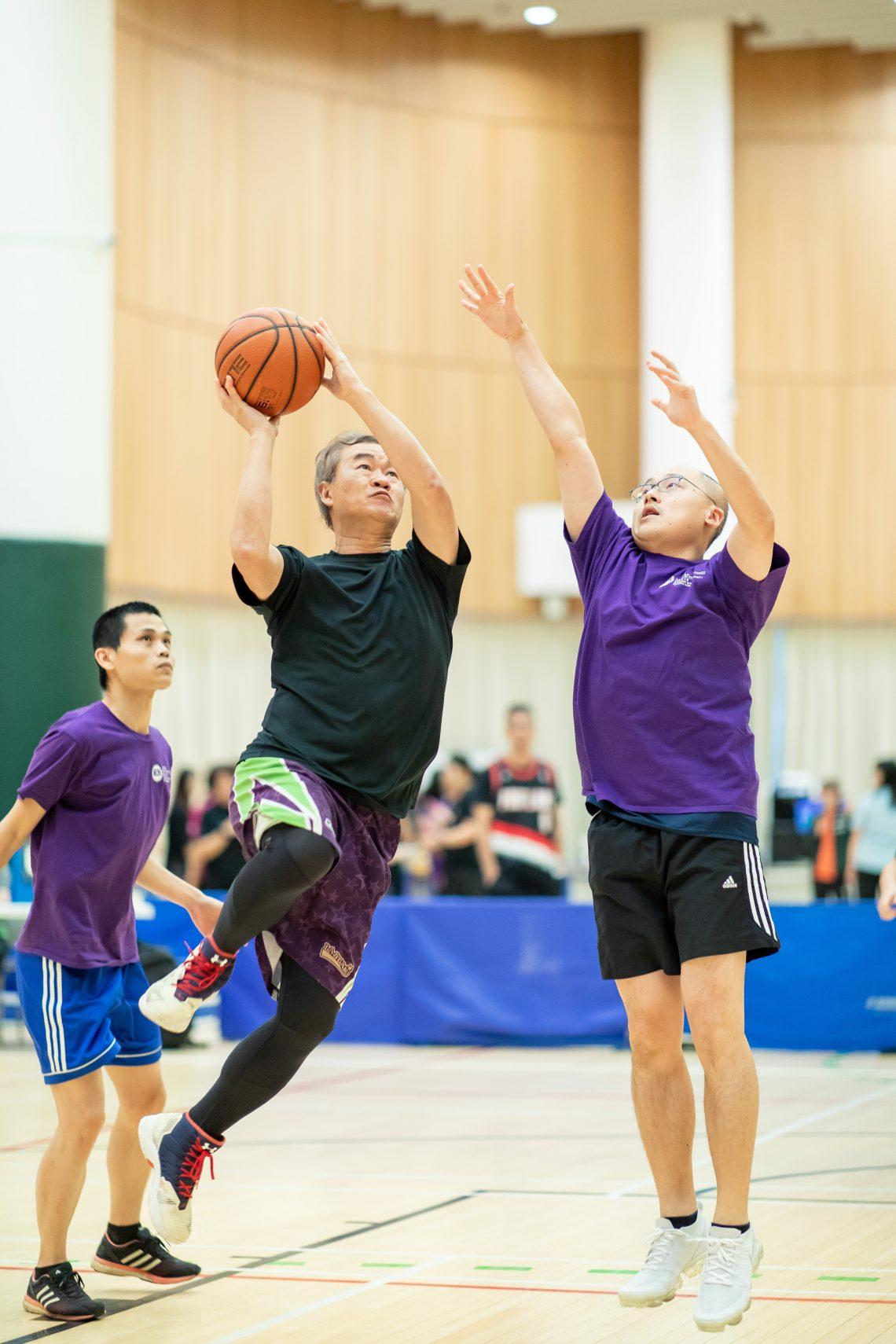 Men's 3-on-3 basketball tournament