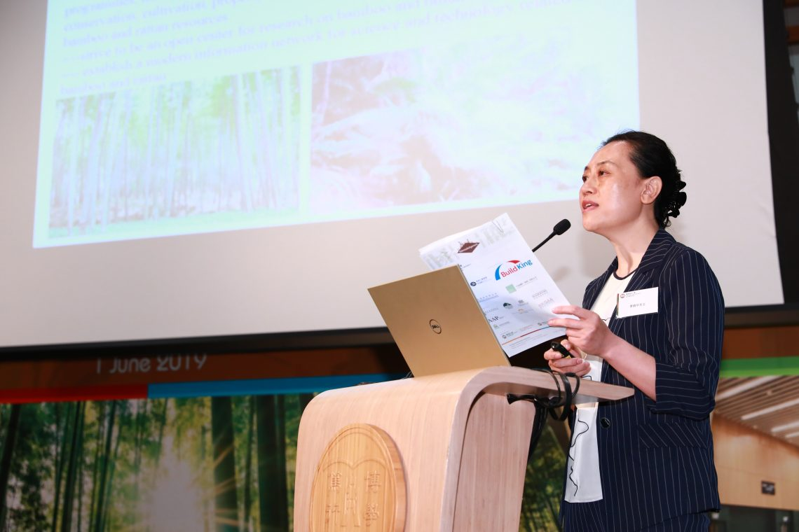 Deputy Director General and Senior Engineer Ms Li Xiao-hua states that bamboo, as a new and popular green product, would play an important role in future economic development.