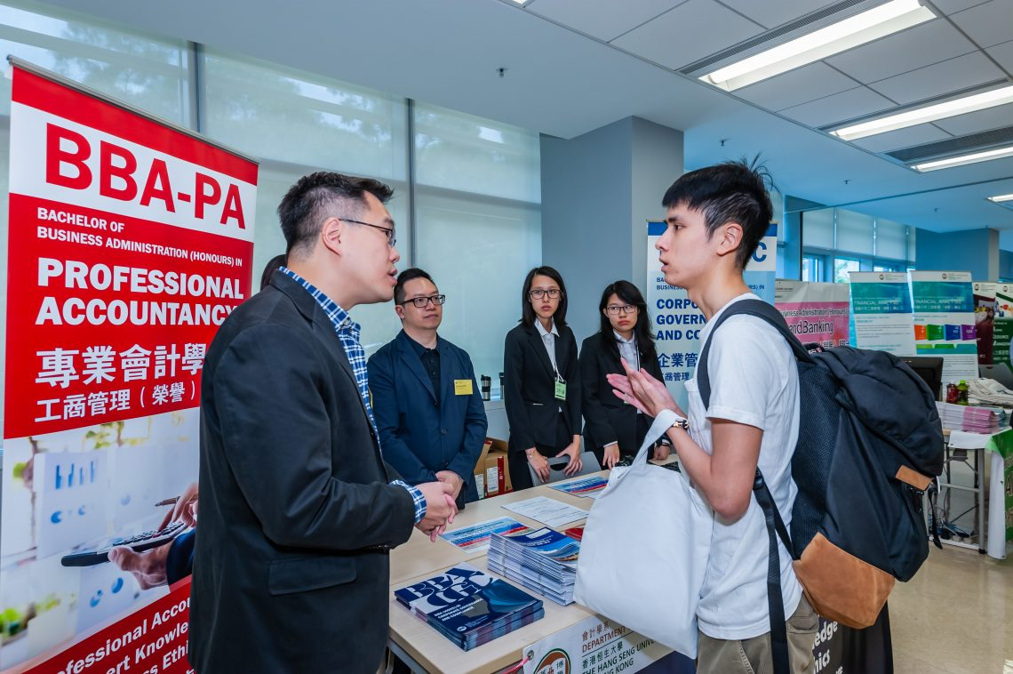 Students having programme consultation with academics