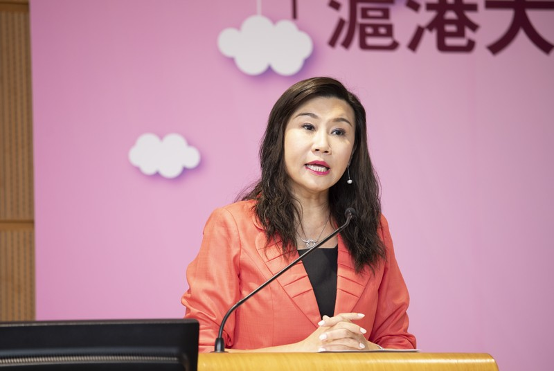 Professor Scarlet Tso, Dean of School of Communication, delivered a welcoming speech.