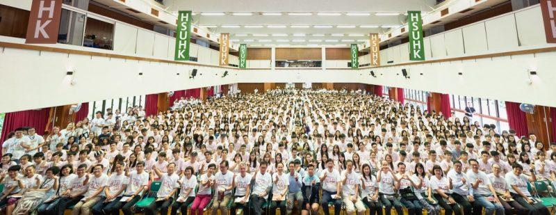 A happy gathering on the Student Orientation Day