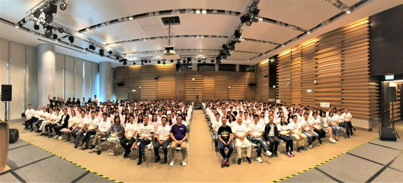 Academic staff and students of the School of Decision Sciences pictured together