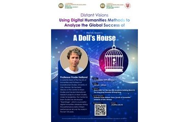 "Seminar on ""Distant Visions Using Digital Humanities Methods to Analyze the Global Success of Henrik Ibsen's A Doll's House"""