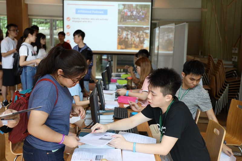 More than 600 students moved in on 31 August 2019