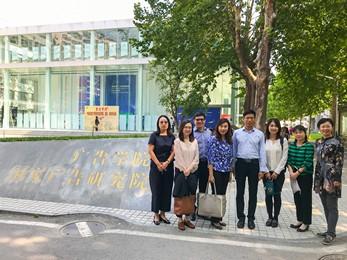 香港恒生大學傳播學院代表團拜訪中國傳媒大學廣告學院