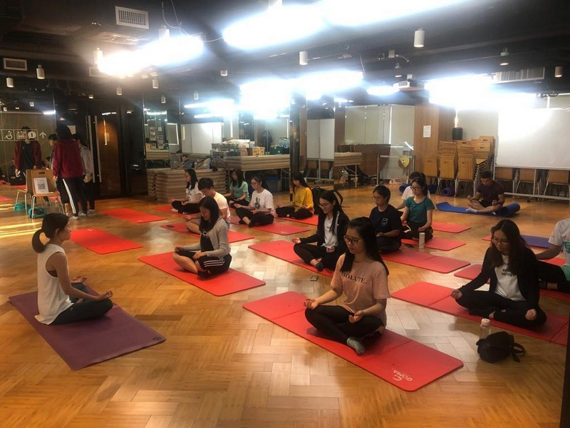 瑜伽伸展體驗班