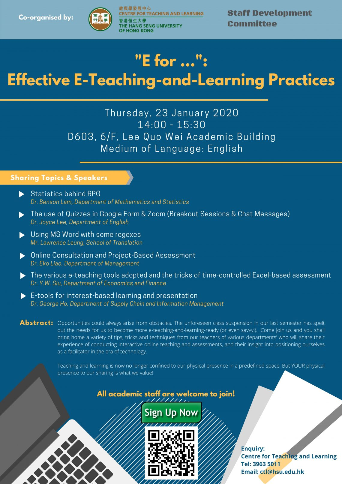 """E for..."" Effective E-Teaching-and-Learning Practices"