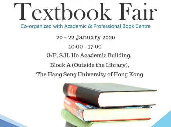 Library Textbook Fair (2nd semester, AY2019-20)