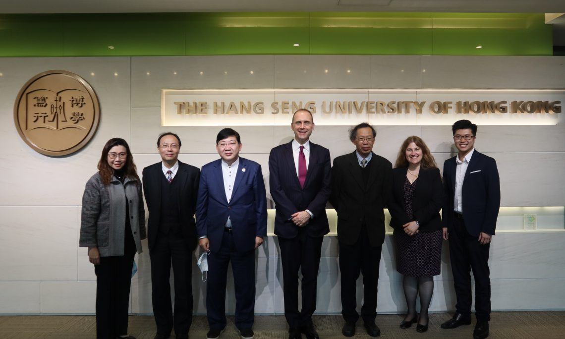 HSUHK senior management welcomed the delegation from the U.S. Consulate General Hong Kong & Macau