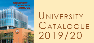 University Catalogue 2019-2020
