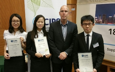 Chartered Institute of Procurement & Supply (CIPS) CIPS Best Student Awards 2017