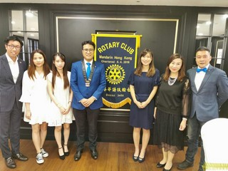 Three Students of the School of Communication Garner the Rotary Club of Mandarin Hong Kong Scholarships