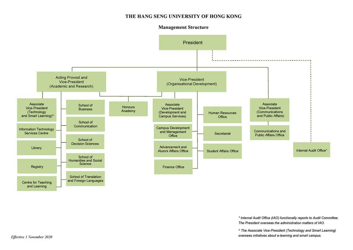 Management Organisational Structure