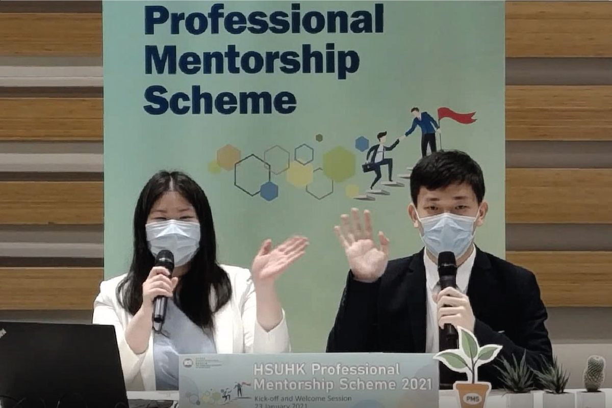 Two mentors and two mentees share their fruitful mentoring experience and offer useful tips to fellow participants.