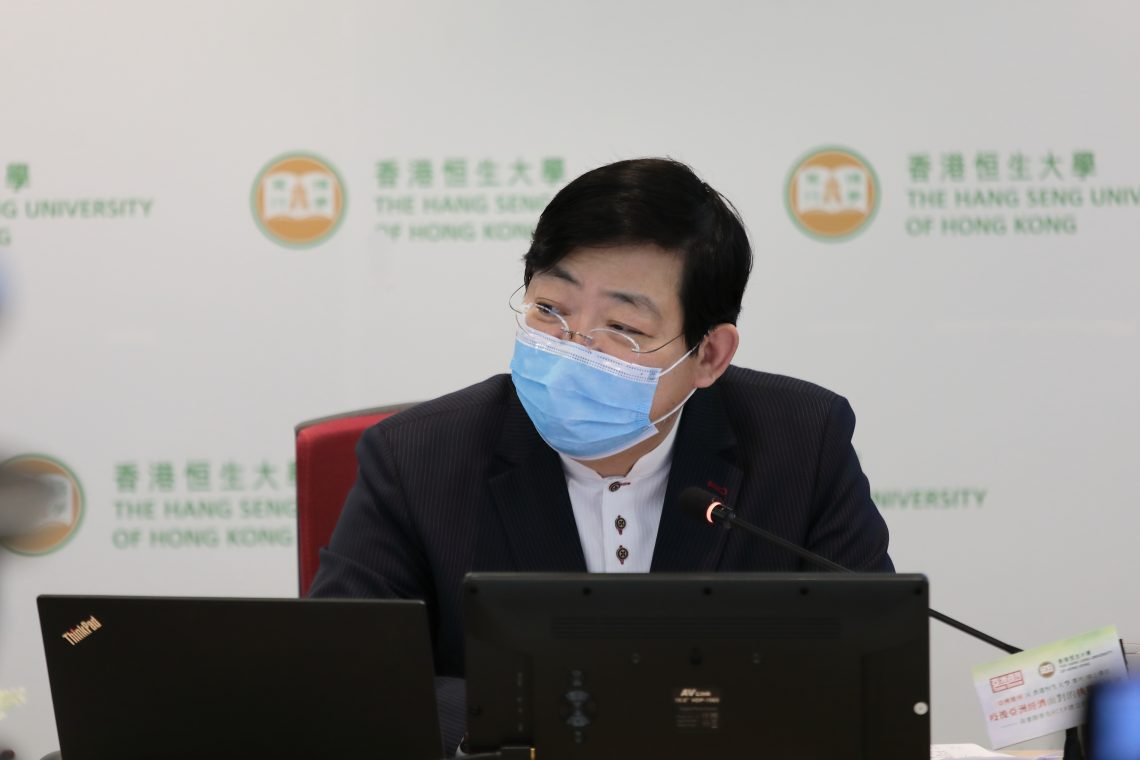 HSUHK President Simon Ho thinks the COVID-19 pandemic reveals that the world is not competent enough to respond to changes.