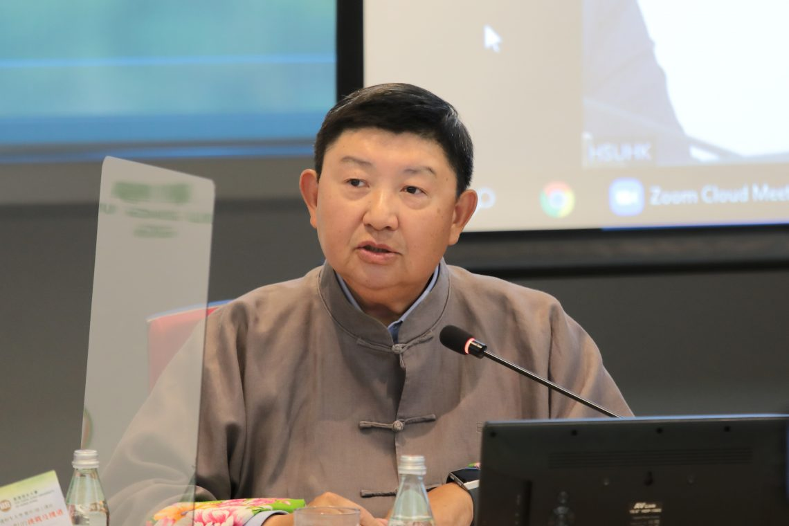Mr David Lie, Chairman of the China New Era Foundation Limited, stresses that China needs to depend on internal circulation driving external circulation to develop its economy.