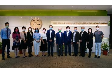 Visit from Crown Worldwide Holdings Ltd
